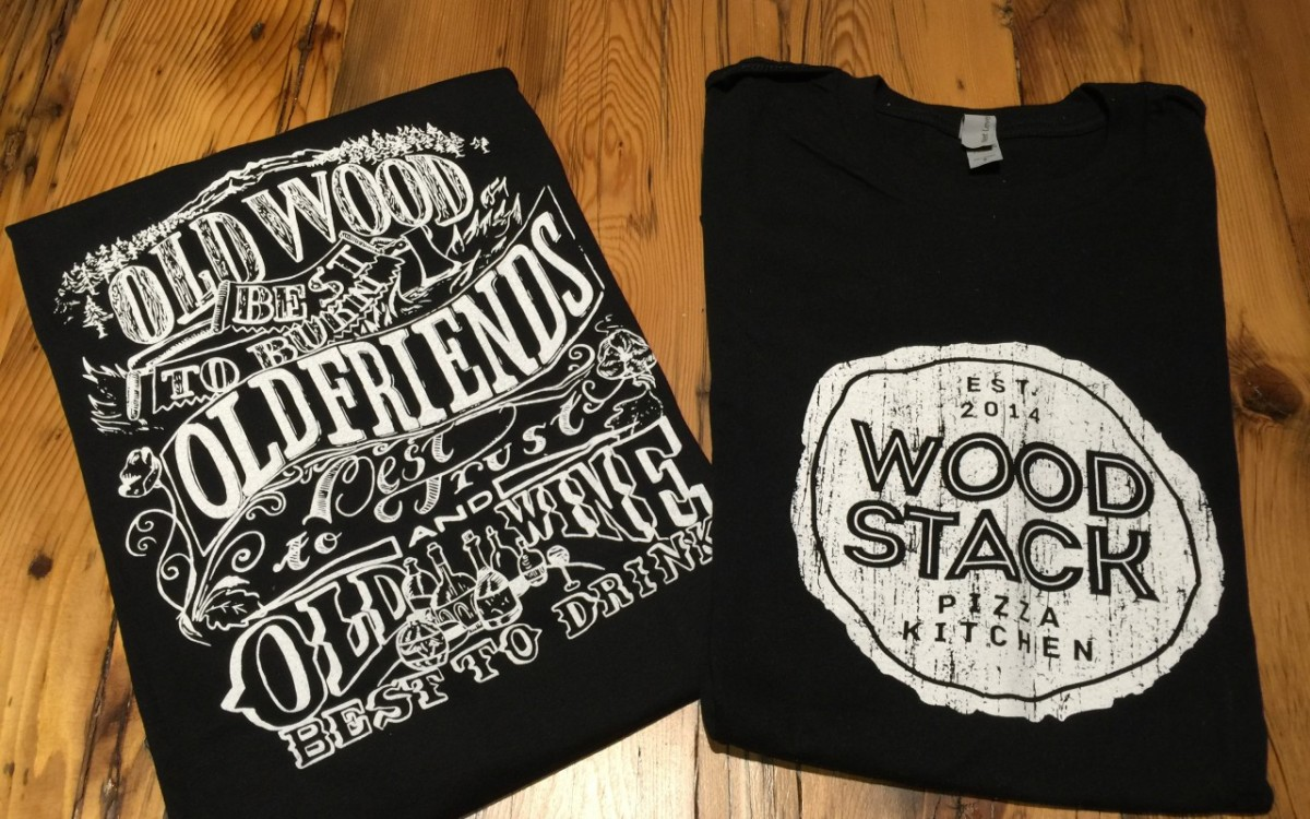 T-Shirts Wood Stack